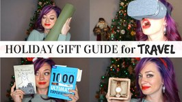 Ultimate Holiday Gift Guide for Travel Plus HUGE GIVEAWAYS