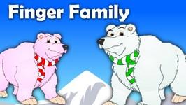 Finger Family Bear Family Rhymes - Animals Cartoon Finger Family Rhymes for Children
