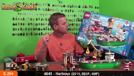 LEGO City Harbour Review - LEGO 4645 Review