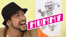 Mad Stuff With Rob - How To Draw A Mummy- DIY Drawing For Children