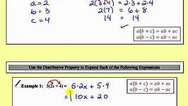 The Distributive Property (L2.4)