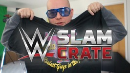 WWE SLAM CRATE UNBOXING - THE FIRST - The New Day, Sasha Banks, Dean Ambrose, Enzo & Big Cass