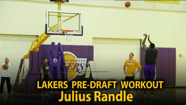 Lakers Pre-Draft Workout: Watch Julius Randle Shoot Around