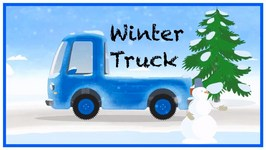 Doc McWheelie - Christmas Winter Truck (Children's Car Cartoons)