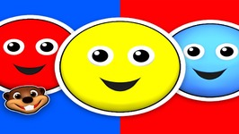 Red Circle Blue Circle - Learn the Primary Colors - Teach Toddlers Colors