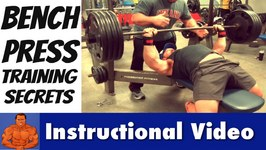 Man Up and Master The Bench Press (how to lift more weight)