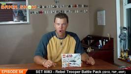 LEGO 8083 - LEGO Rebel Trooper Battle Pack Review