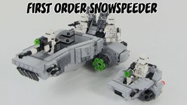 LEGO Star Wars The Force Awakens First Order Snowspeeder Microfighters Review : LEGO 75126