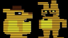 Golden FREDDY and SPRINGTRAP MINIGAME (Five Nights at Freddy's 3)