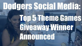 Dodgers Social Media: Top 5 Theme Games of the Season, Giveaway Winner Announced