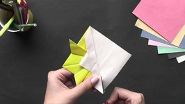Origami - Origami In Sindhi - Make a Gold Fish