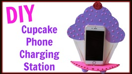 DIY Cupcake Phone Charging Station   Back To School Crafts  Craft Klatch  How To