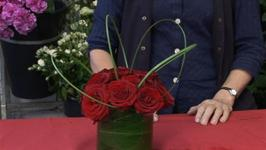 How To Present Flowers In A Small Vase