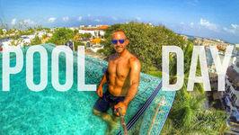 Amazing Rooftop Pool In Playa Del Carmen
