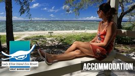 Accommodation On Lady Elliot Island, Southern Great Barrier Reef, Queensland, Australia