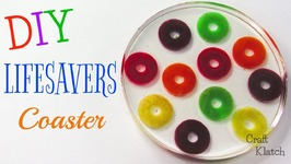 Lifesavers Coaster DIY  Another Coaster Friday