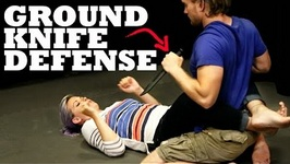 Knife Defense On The Ground - How To Fight Someone With A Knife