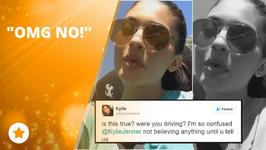 Did Kylie Jenner crash Kris' car?