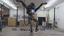 Robot Re-Enacts the Karate Kid Crane Stance