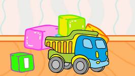 Color My Favorite Toys 2  Truck And Bulldozer