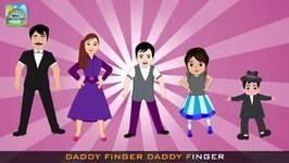 Tap Dance Finger Family Rhyme  Finger Family Rhyme  Funny Nursery Rhymes For Kids