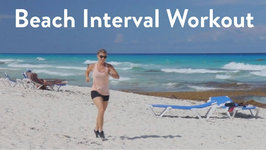 Beach Interval Workout in Cancun, Mexico