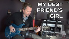 My Best Friend's Girl The Cars Guitar Lesson Part 1
