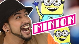 Mad Stuff With Rob  How To Draw A Minion- DIY Drawing For Children