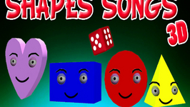 The Shapes Song Collection In 3D For Children