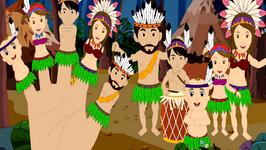 Tribal Dance Finger Family - Finger Family In Jungle