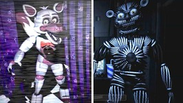 Foxy, Yenndo and Freddy!! Five Nights at Freddy's Sister Location   Minigame