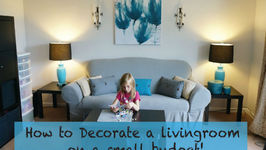 How To Decorate A Living Room On A Really Small Budget