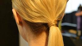 Golden Globe Looks - Catt Sadler's Low Chic Ponytail
