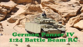 Scale 1:24 German Panzer IV - Battle Beam RC