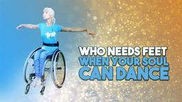 This wheelchair dancing champion knows no limits