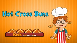 Hot Cross Buns  Nursery Rhymes  Animated Songs for Children