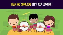 Head Shoulders Knees and Toes Let's Keep Learning - Best Preschool Learning Songs