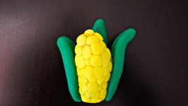 Corn-on-the-Cob Play-Doh