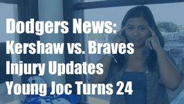 Dodgers News: Kershaw vs. Braves, Latest on Scott Van Slyke and More