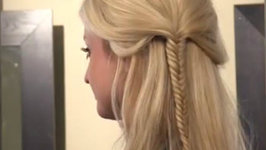 Summer Bohemian Style - How to Fishtail Braid