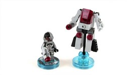 LEGO Dimensions Cyborg Fun Pack Toy Review