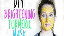 DIY - All Natural Brightening Turmeric Mask