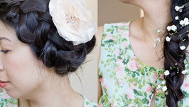 How-to: 4 Flower Power Summer Hairstyle Tutorial