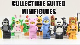 Every LEGO Collectible Suited Minifigure