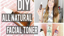DIY - All Natural Rose And Witch Hazel Facial Toner