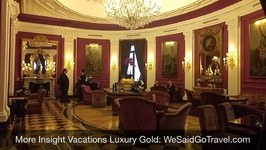 1 Welcome to Insight Vacations Luxury Gold: Arriving Rome Regina Hotel Baglioni April 12