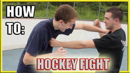 How To Fight - Hockey Fighting Vs Street Fight Techniques