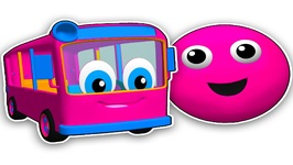 The Bus is Pink - Learn Colors for Children