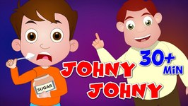 Johny Johny Yes Papa Nursery Rhyme - Cartoon Animation Rhymes and Many More Videos