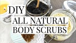DIY: All Natural Body Sugar Scrubs